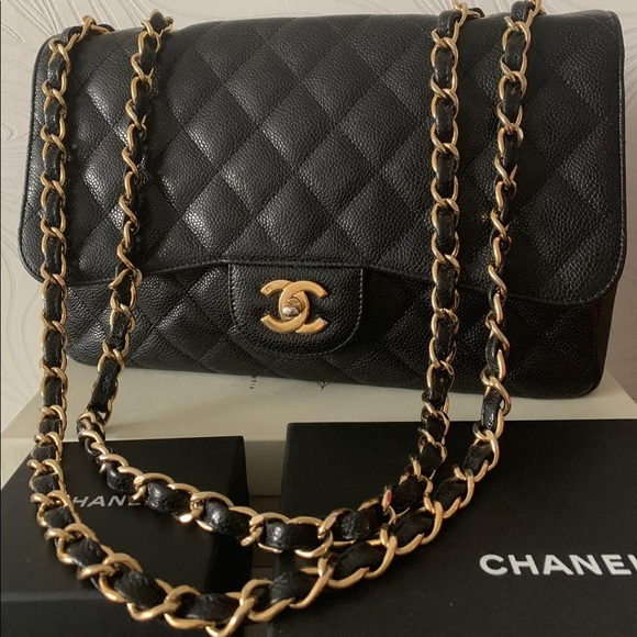 c0739db655e0 CHANEL Bags | Classic Jumbo Caviar With Ghw Bag | Poshmark